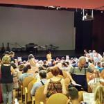 Preparados para comenzar el Festival de Música 2015 ¡Lleno total!