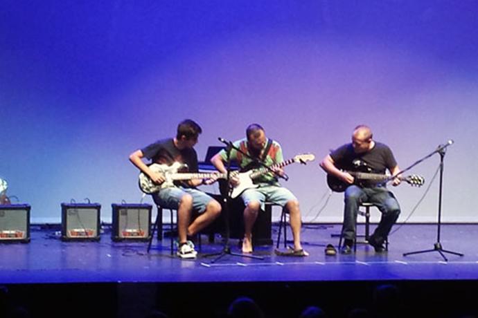 Festival Música - Guitarra Electrica - Escuela Organigrama - Málaga